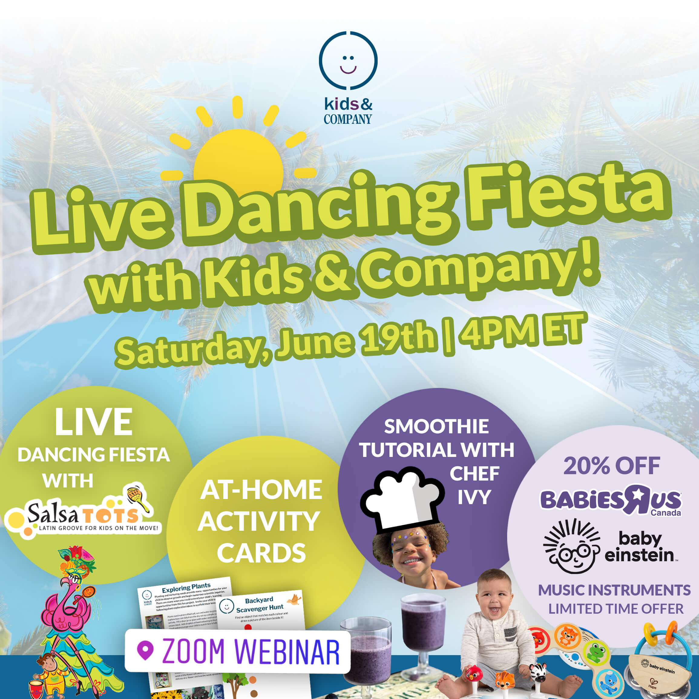 Live Dancing Fiesta Family Event
