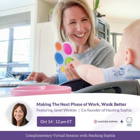 Making The Next Phase of Work, Work Better Webinar with Hacking Sophia
