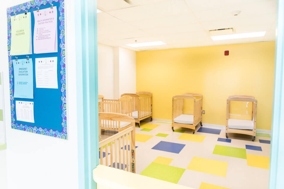 Queen West Daycare Centre Downtown Toronto space cribs