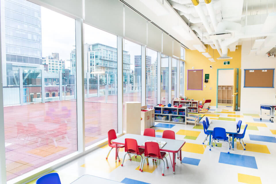 Queen West Daycare Centre Downtown Toronto space