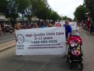 Kids & Company Parade Okotoks
