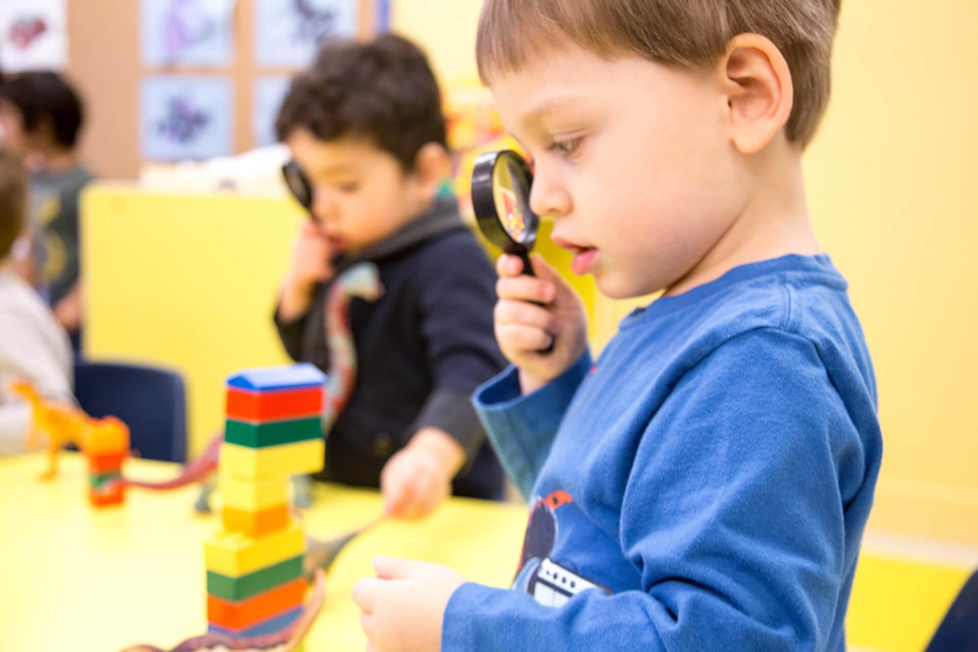 STREAM preschool program at daycare
