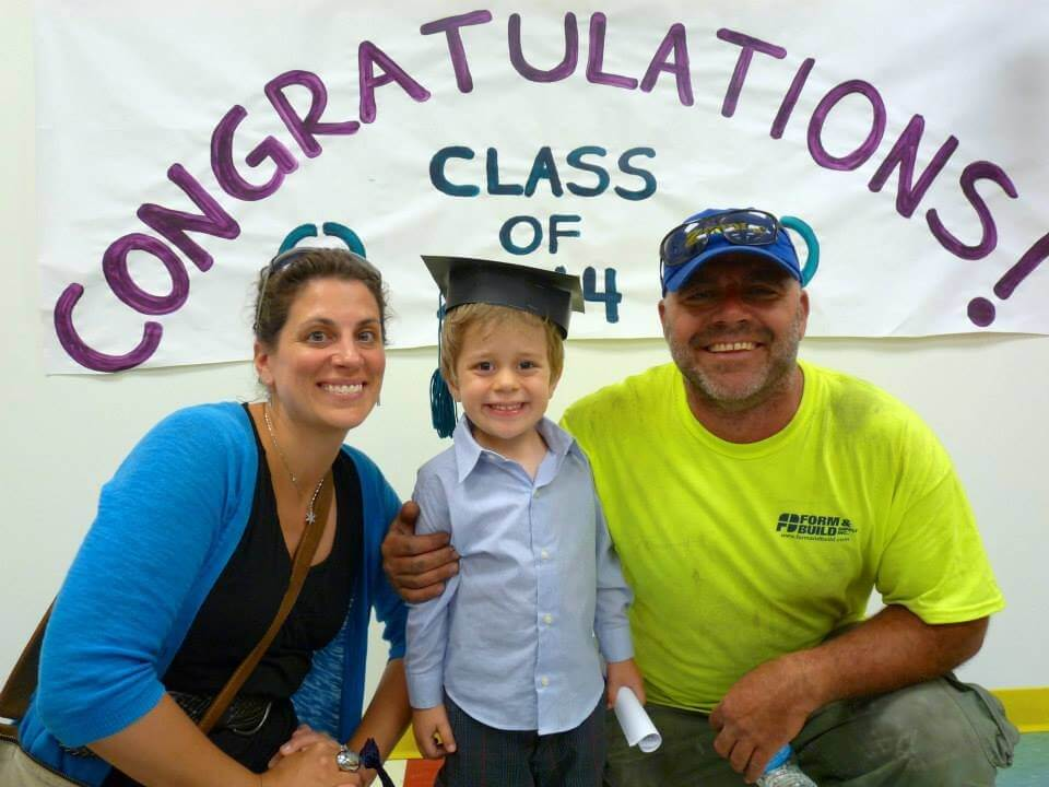graduation ceremony from daycare