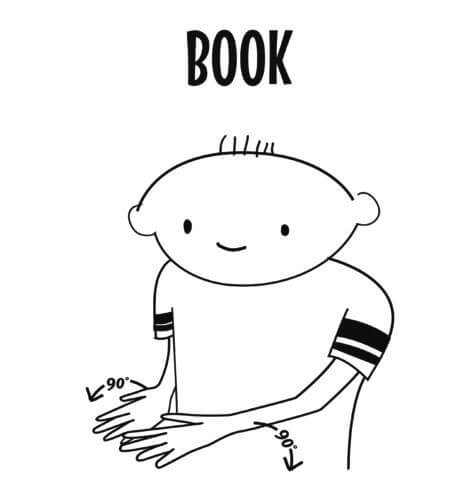 Book in Sign Language