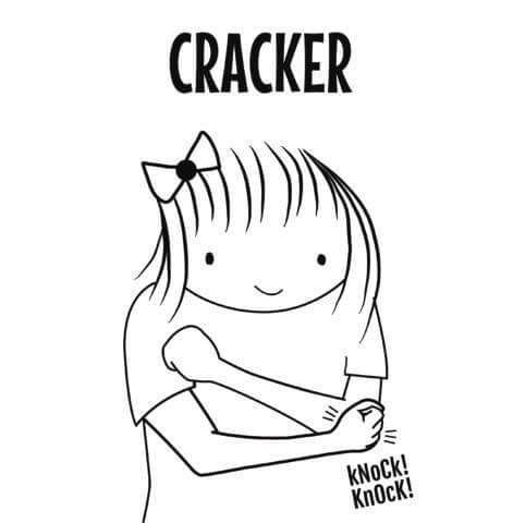 Cracker in Sign Language