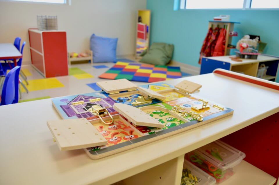 Tamarack Daycare Centre toys
