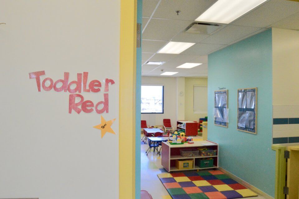 Red Deer Location: Inside look at childcare space