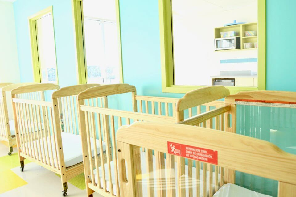 Jagare Ridge Daycare Centre - cribs