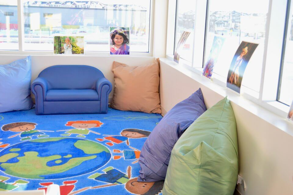 Jagare Ridge Daycare Centre - pillows and comfy couch