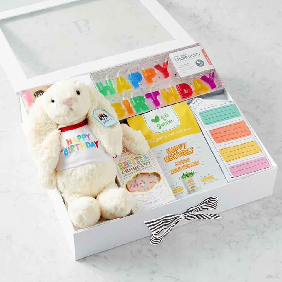 birthday box from Baskits