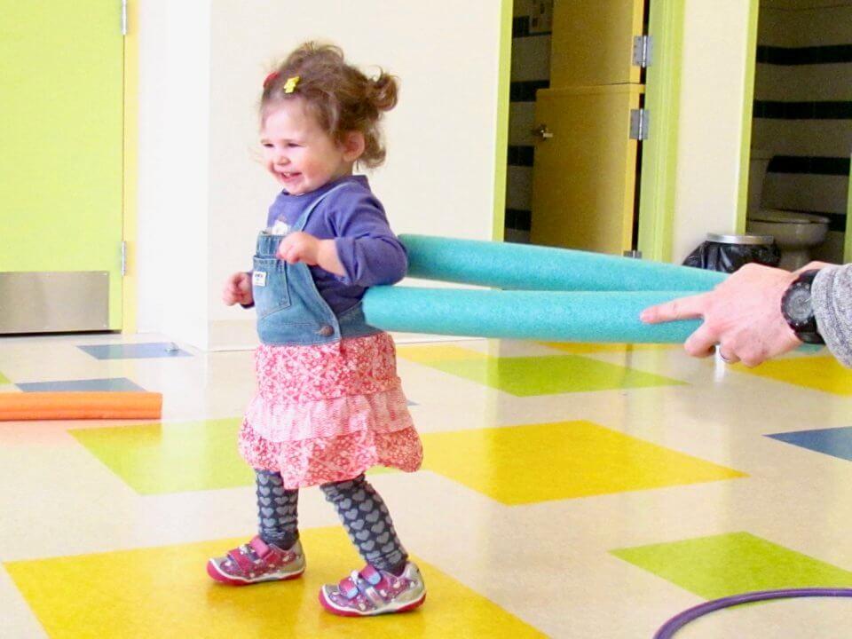 Okotoks Daycare Child Playing