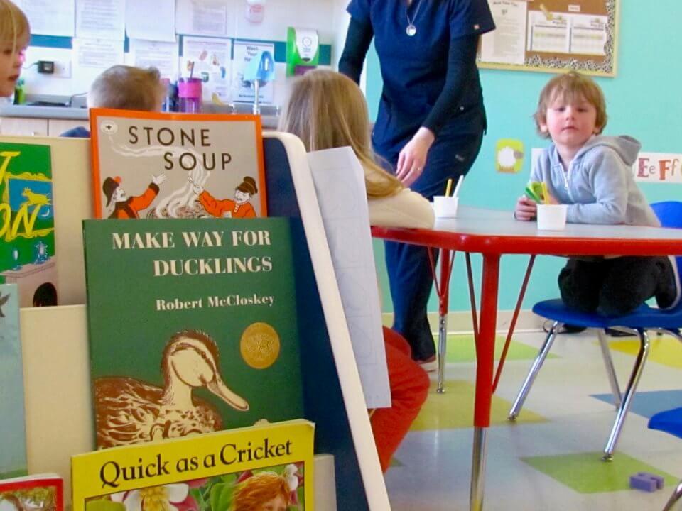 Okotoks Childcare: Children learning