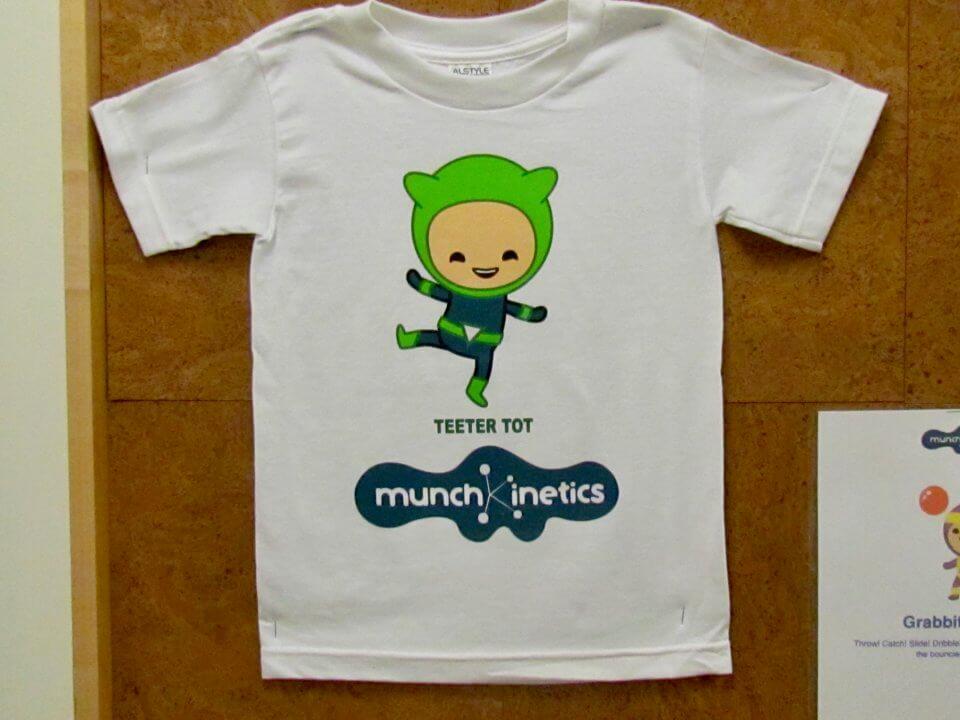Smart Tech Kids and Company munchkinetics tshirt
