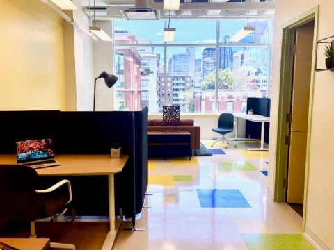 Coworking space in Toronto on Queen Street West