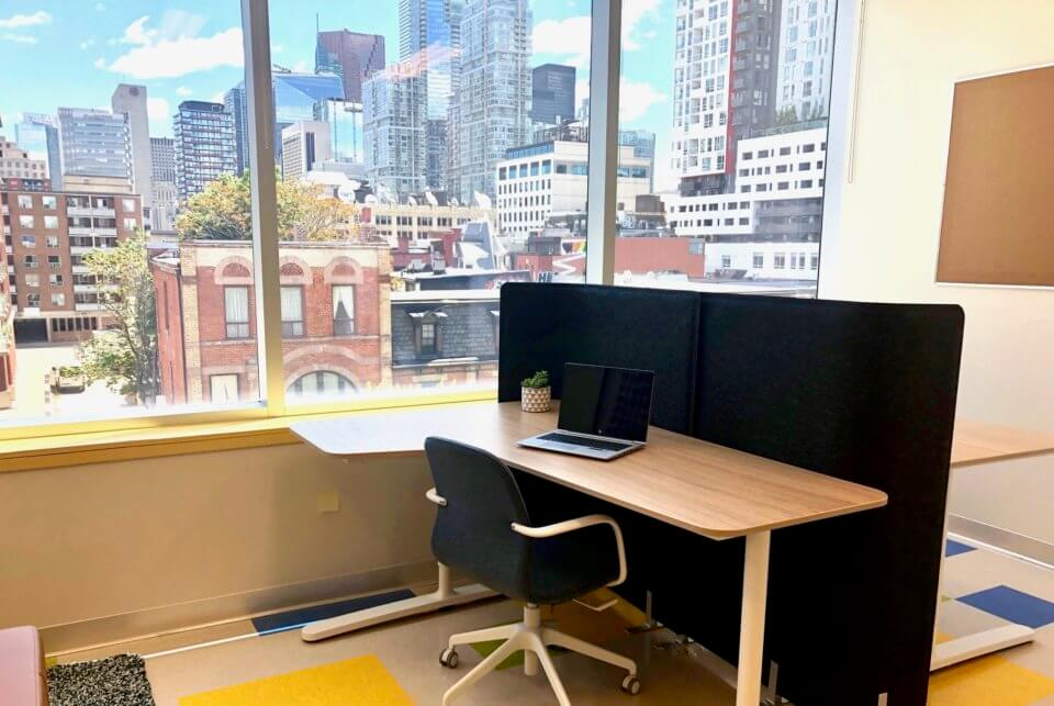 Coworking space in Toronto Queen Street West