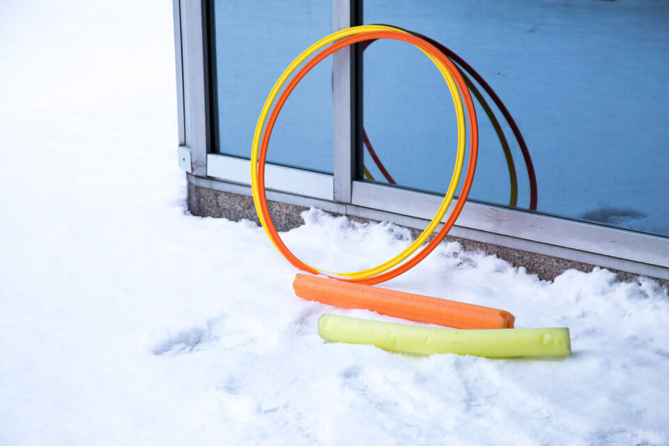 outdoor toys for kids at bloor daycare centre