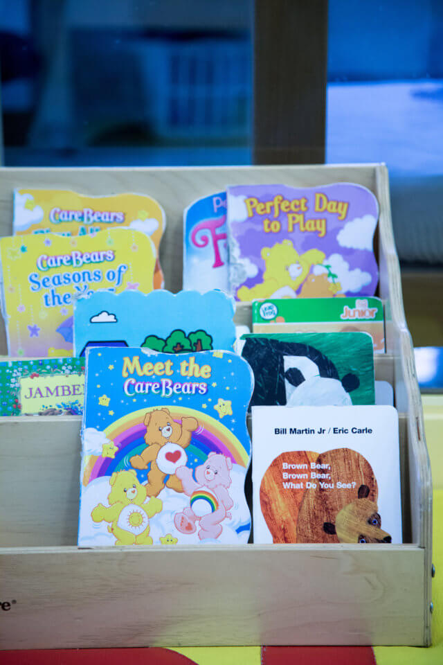 reading books for kids at bloor daycare centre