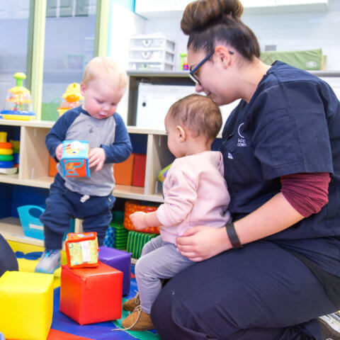Daycare philosophy - ECE with children