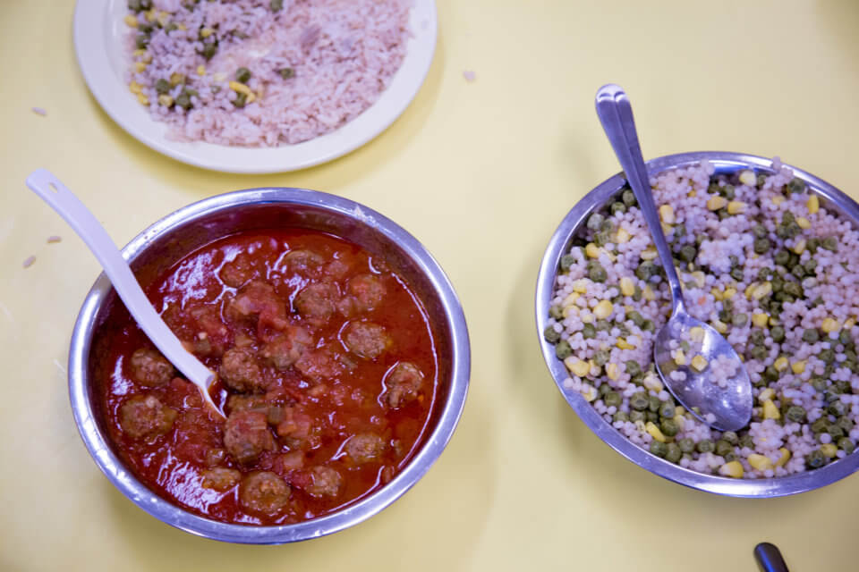 Bloor Christie daycare centre healthy lunch for kids