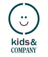 kids and company logo