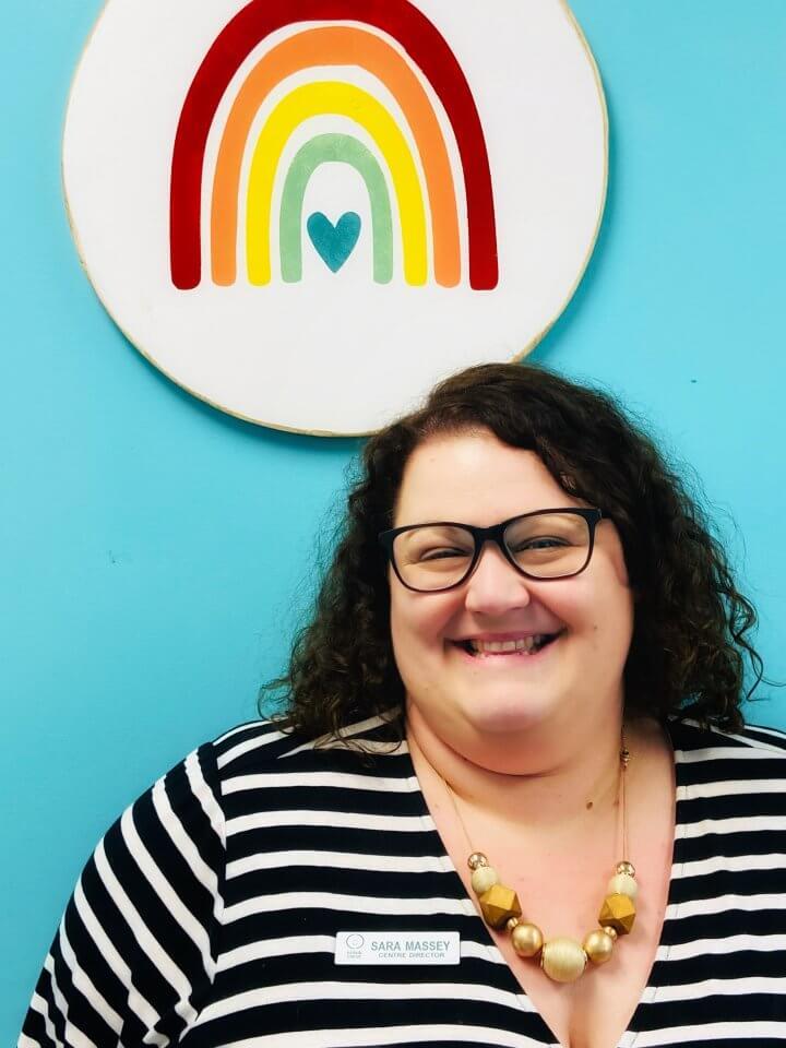 Sara, the Director of Kids & Company Larry Uteck