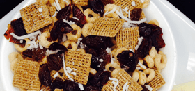 Homemade trail mix from the Kidco Kitchen