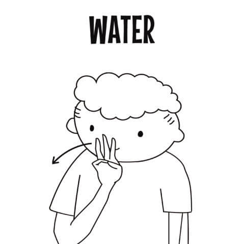 Water in Sign Language