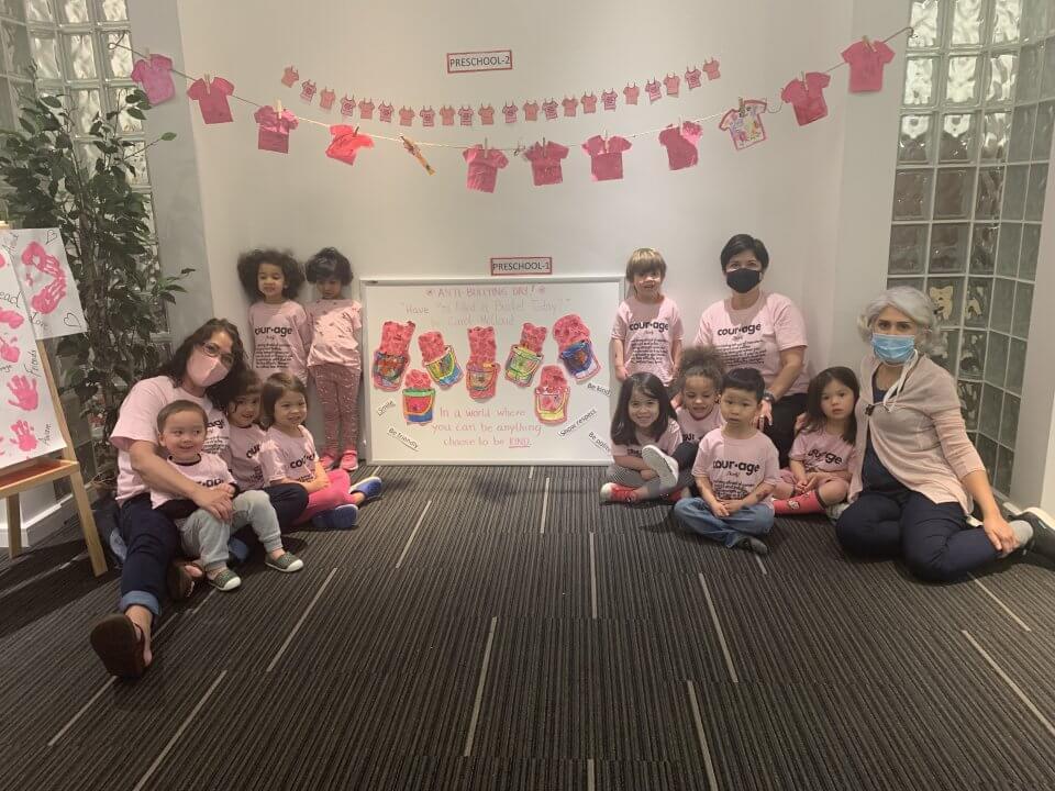 Teachers and children at our richmond, bc centre