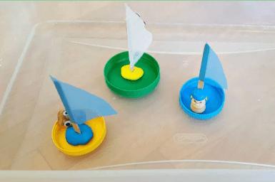 boats in water bin