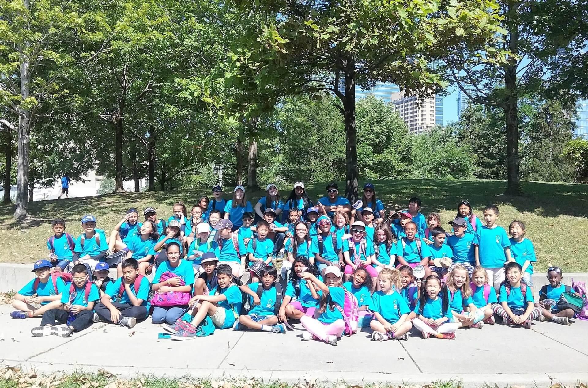 Kids & Company Group Photo at Camp