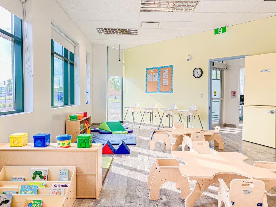 Child care centre, neutral colours