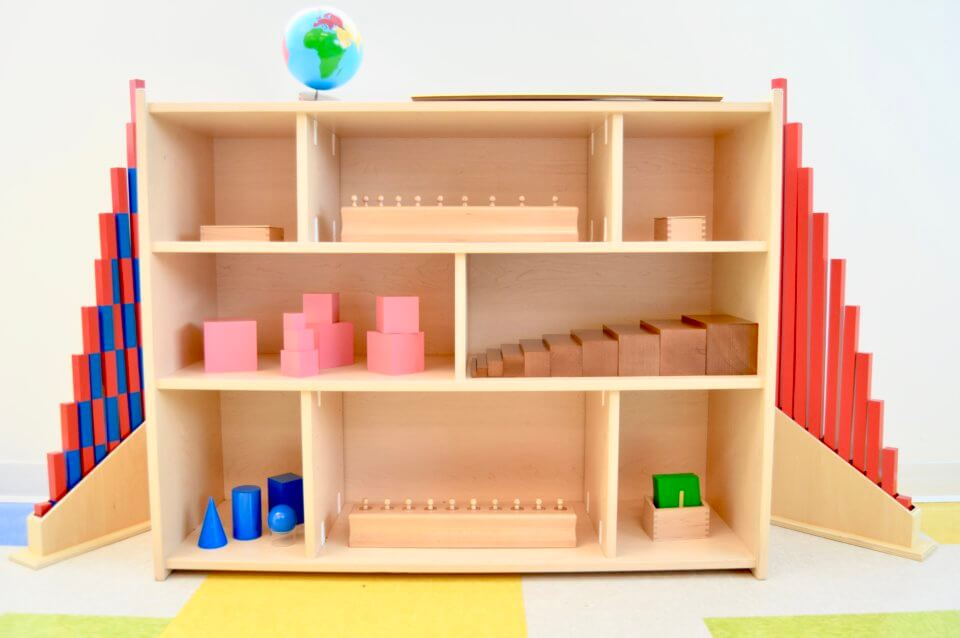 Blocks at daycare to learn about engineering