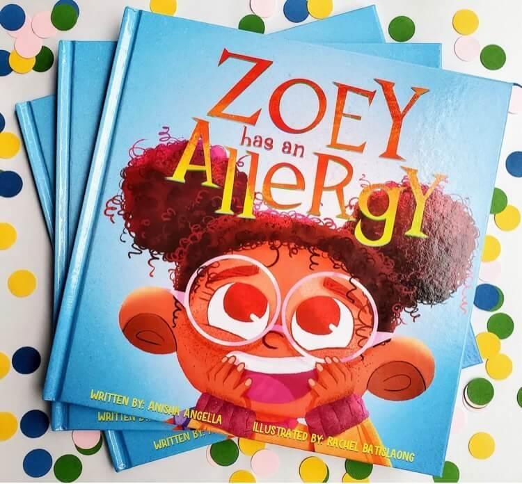Book - Zoey has an allergy